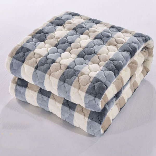 Soft Sofa/Bed Blankets Fleece Blankets Plaid Throw Blanket High Quality Mantas E Cobertores De Casal Mantas Para Bedding Carpet