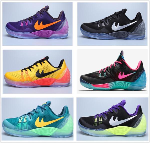 Wholesale Latest Kobe 5 Venomenon Generation Basketball Shoes Kb Venom 5 V  Sports Shoes Men 100% Original Authentic Sports Shoes Size Kids Shoes