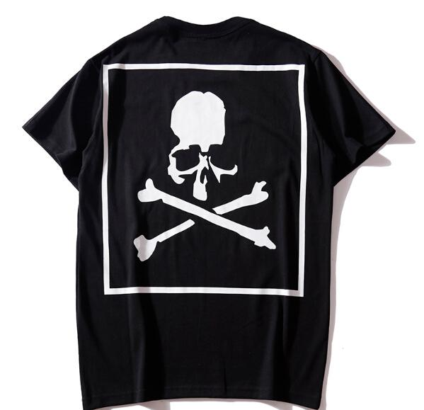 Skull Skeleton MMJ Mastermind Print Fashion Men Women Tshirt Japan World Solid Color Camouflage Tees Top Lovers High Street Summer Tshirt