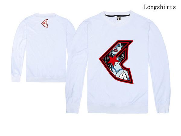 известный бренд мужская толстовка пальто с длинными рукавами рубашки