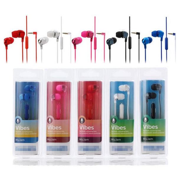 PIR SHE3705 per cuffie auricolari a cancellazione di rumore Philips Cuffie auricolari in metallo universale per Samsung Xiaomi Samsung con confezione al dettaglio