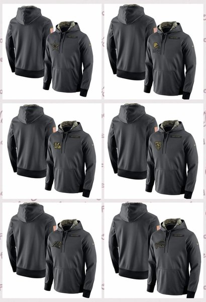 more photos ac240 45966 2019 Dallas Cowboys Cleveland Browns Cincinnati Bengals Chicago Bears  Carolina Panthers Salute To Service Player Performance Hoodie From Hxxy99,  ...