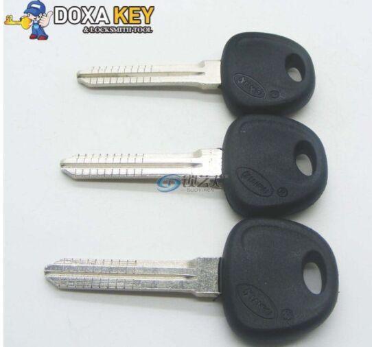 10pcs Original Engraved Line Key for 2 in 1 LiShi for hyundai scale shearing teeth blank car key locksmith tools supplies