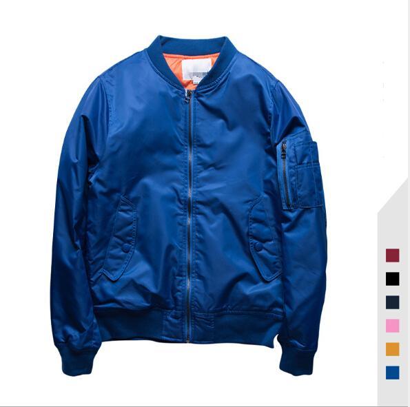 Mens Fashion MA1 Jackets Womens Baseball Streetwear Jackets Coats Lovers Punk Pilot Flight Jackets Coats Mens Womens Clothes Outerwear Tops