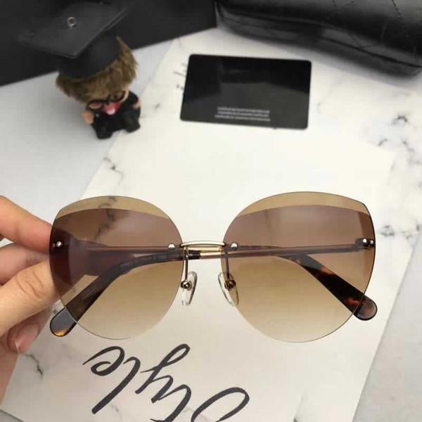 Compre Chanel Nuevas Gafas De Sol Ojo De Gato Hombres Y Mujeres ...