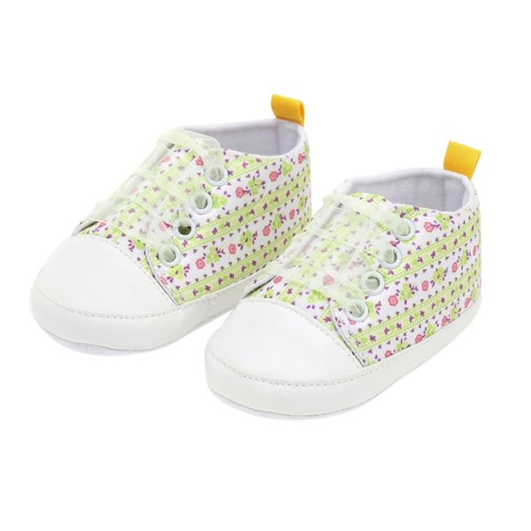 Baby Shoes Baby Toddler Shoes 2018 National Wind Embroidered Newborn Infant Lace-up Casual Canvas Sneakers 0-18M New