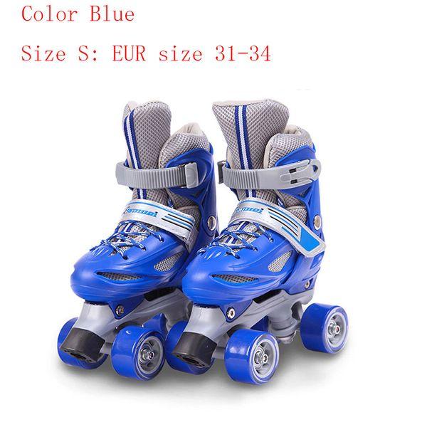 حجم أزرق S