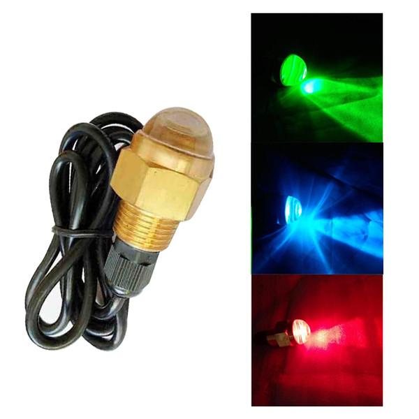 Yeni Varış 12 V Sualtı Tekne Parlak LED Tahliye Tak Işık 1/2