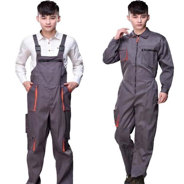 Arbeit Overalls Männer Frauen schützende Overall Repairman Strap Overalls Hosen Arbeitsuniformen Plus Size sleeveless Overalls