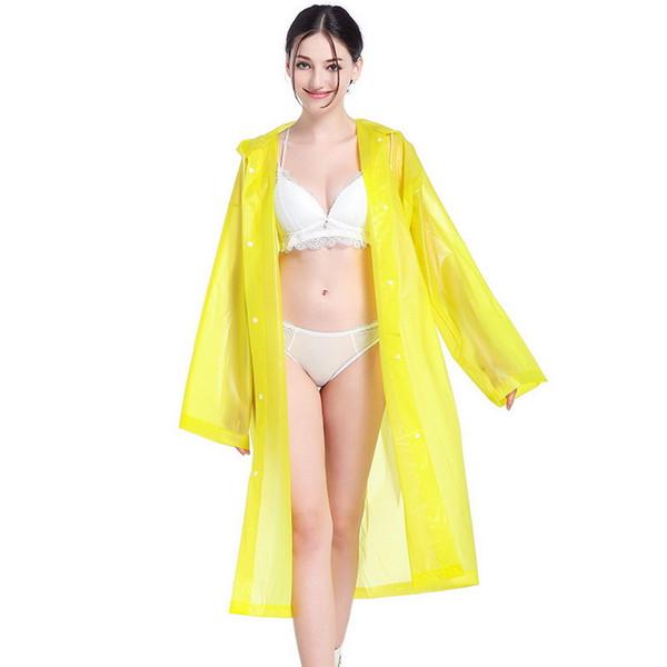Adulto Lin Tai Raincoat PEVA, EVA, Poncho in PVC Impermeabile non monouso Personalizzato ccyy06