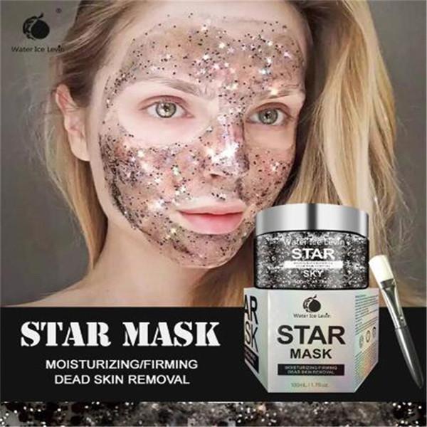 Nueva STAR MASCARA máscara del removedor de la espinilla de corea 100ml para el cuidado de piel de la cara DHL libera el envío
