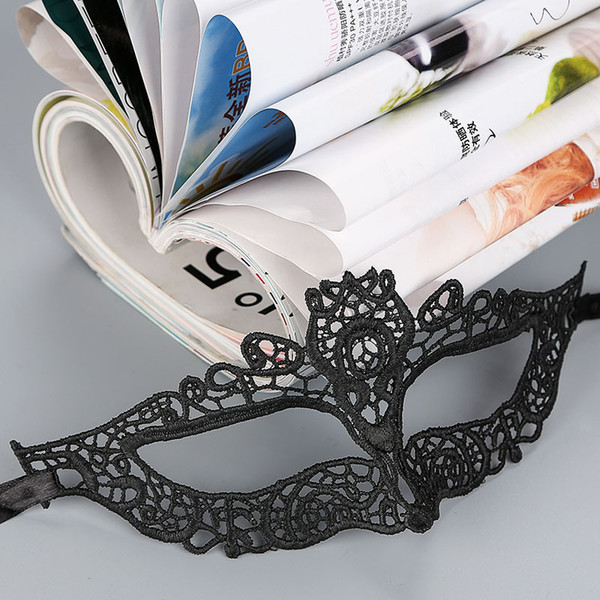 29 Models Lace Halloween Masks Lovely Party Venetian Masquerade Decorations Half Face Lily Woman Lady Sexy Mardi Gras Masks