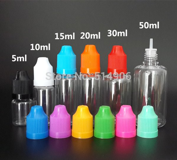 Satın Al Toptan 100 Adet Pet Plastik Damlalık şişe 5 Ml Boş Yağ