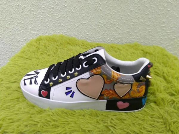 Orijinal Lüks Marka Popüler Koşucu Örgü Ayakkabı Dantel-up Patchwork Karışık Renkler Low Cut Moda Çift Rahat Yürüyüş Ayakkabıları hc18041801