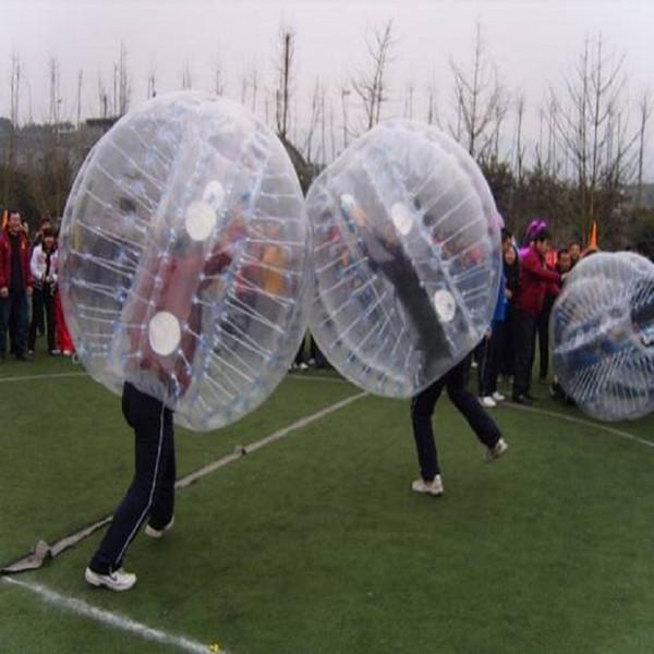 bola de parachoques bola zorb inflable juega juego al aire libre Bubble Football, Bubble Soccer 1.2 M, 1.5 M, 1.8 M materiales de PVC