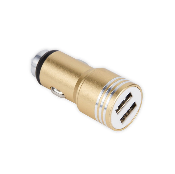 2018 Christmas Festival small gadget portable usb car charger 2 fast charging ports