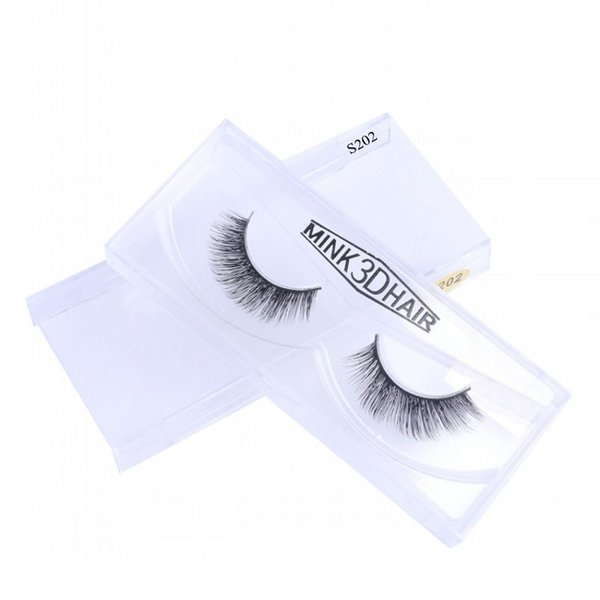 3D Mink Lashes Premium Quality 100% Real Handmade Mink Hair Eyelashes Natural Black Long thick Eyelashes Extensions