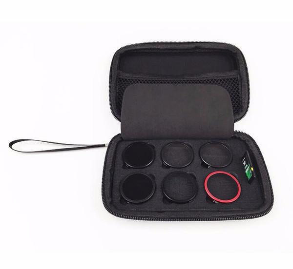 Camera Filter Pack Bag For DJI Phantom 3 4 RC Quadcopter Filter Storage Bag ND Graduated Star Filter Case Dustproof Box for DJI 3/4