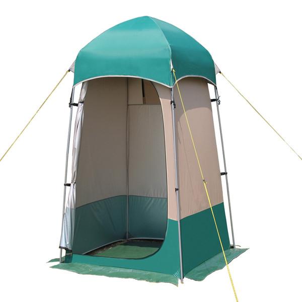 Yeni stil kolay kullanım kamp duş çadırı / tuvalet / soyunma soyunma odası çadır / Açık hareketli WC B081101