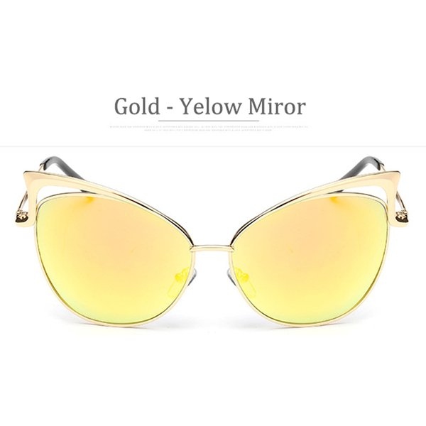 Miror Yellow Frame Gold
