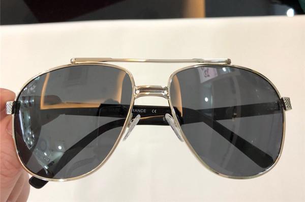 2018 vintage EYEGLASSES FRAMES WOOD SUNGLASSES Wood Half Rim Eyeglasses plated Santos Designer Sunglasses New in Box numC180813-2