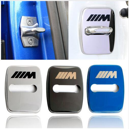 Car Styling door lock cover case For BMW 1 2 3 5 6 7-Series X1 X3 X4 X5 X6 M1 M3 Accessories