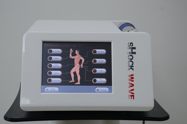 Effective Shock Wave Machine Physiotherapy Shockwave Therapy Extracorporeal Neck Shoulder Pain Relief Massage for Arthritis Body Slimming
