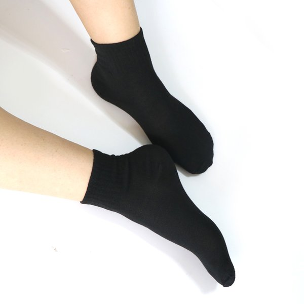 10pair female polyester black socks women 's long socks white for girls ladies thermal for 4 season printed socks sokken thumbnail