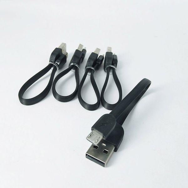 Micro USB Cabo de 15 cm para Android Telefone Carregador E 510 thread vape caneta Ego baterias max ajustável Tensão da bateria curto cabo USB portátil