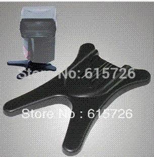 10pcs/lot Flash Stand Holder Base Hot Shoe for all camera DSLR flash Trigger Transmitter wholesale