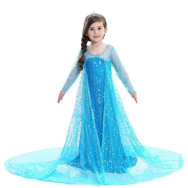 Compre Vestido De Princesa Para Niñas 2018 Verano Coreano Vestido Para Niña Niños Vestidos De Fiesta Para Halloween Día De Los Niños A 2451 Del