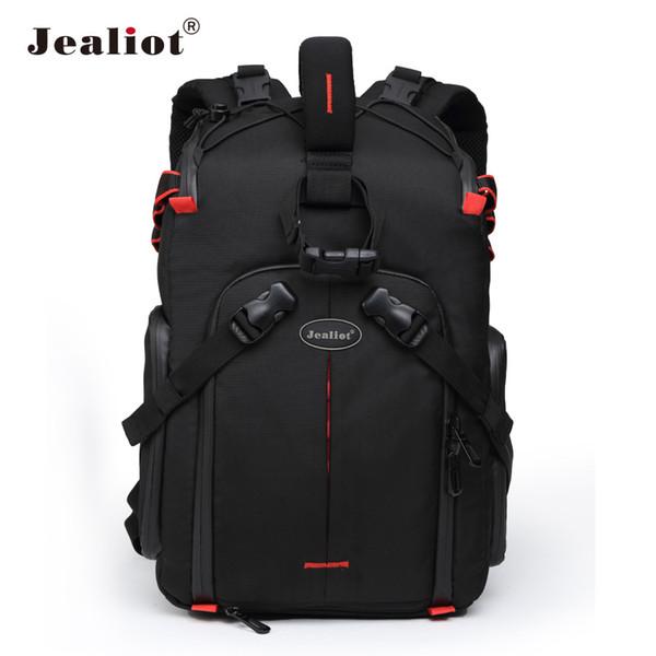 Jealiot Professional slr Backpack for Camera Bag laptop Video Photo lens digital camera bag photography waterproof for  50d