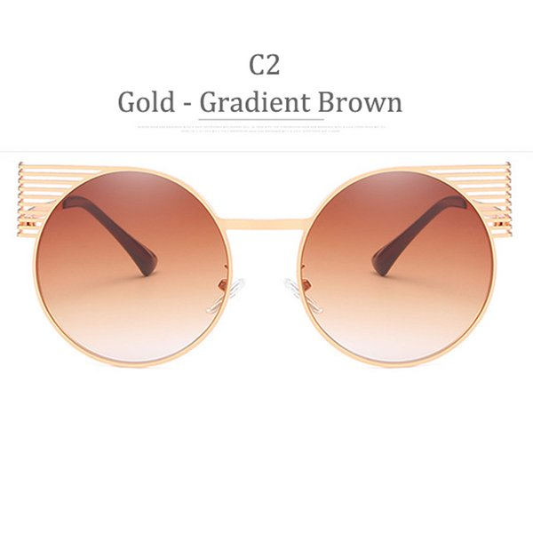 C2 Gradiente in oro marrone