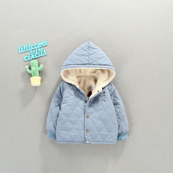a0bf853c52e0 Children Warm Winter Baby Girls Infants Kids Thicken Cashmere Hooded ...