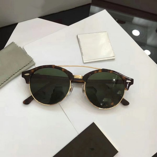 75986c08a RayBan Sunglasses custom 2 Color al por mayor - Diseñador de la marca lente  de vidrio