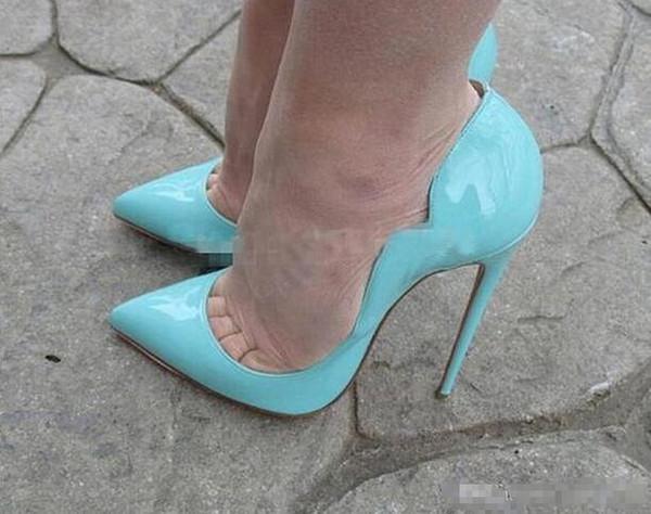 2018Hot Lüks Pompaları Moda Kırmızı Alt Ayakkabı Elbise parti Ayakkabıları Supe Saf İşi Düğün ayakkabı Kadınlar Topuk yüksekliği: 8 cm10 cm12 CM