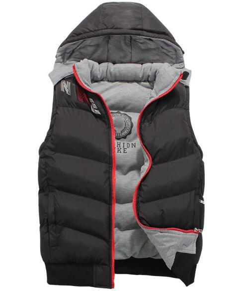 NEW 2019 top quality Men Wear Thick north Winter Outdoor Heavy Coats Down VEST mens face jackets Clothes XL-XXXXL