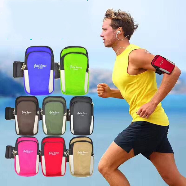 Creative New Pattern Armband Durable Running Mobile Phone Arm Bag Multifunction Outdoor Fashion Leisure Portable Armpack Waterproof 5 5hn Y