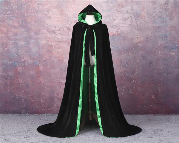 Forro preto + verde