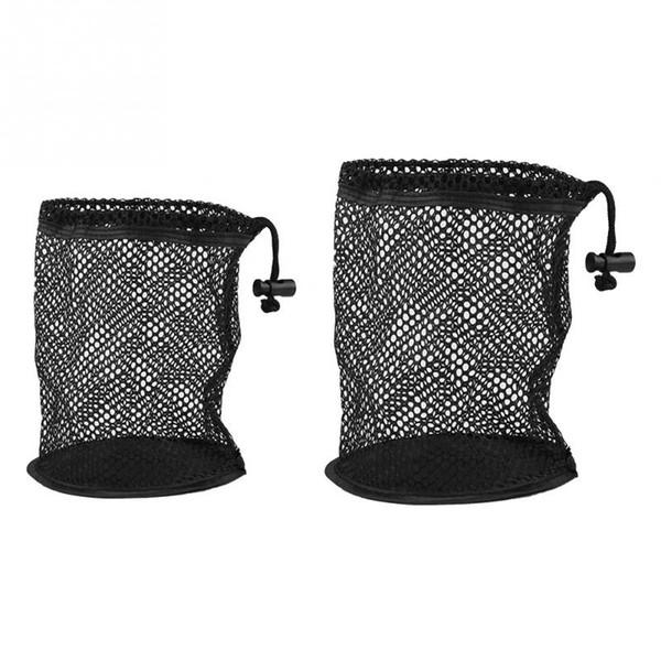 25 / 50 Golf Balls Bag Nylon Mesh Nets Ball Storage Holder High Capacity Golf Balls Collector Accessories