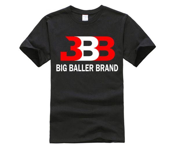 T-shirt noir blanc Ball Basketball Mâle Coton Manches Courtes Lâche BBB Tshirt Homme et Femme T-shirt S-3XL
