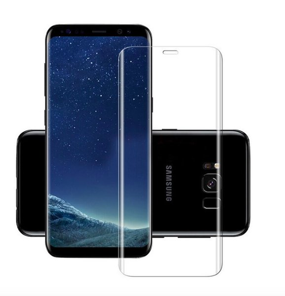 For Samsung Galaxy s6 S7 Edge S8 Plus Note 8 3D Full HD Clear PET Curved Film Screen Protector