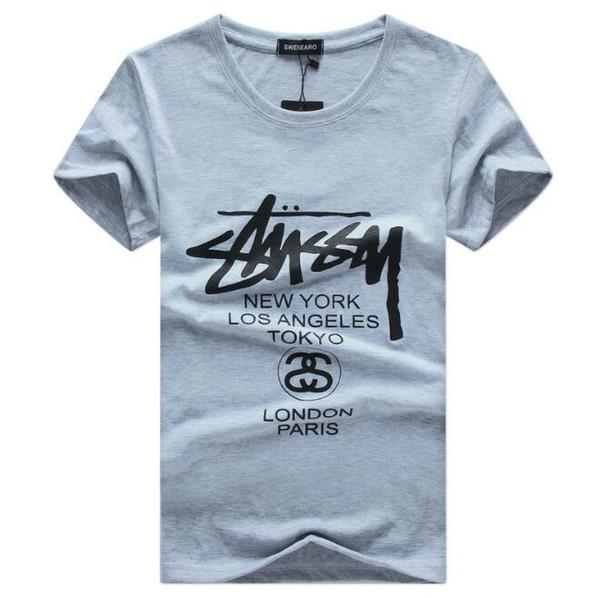 2018 New Mens Summer Brand Tops Tees Short Sleeve large Size 5XL Printed Cotton t-shirt wholesale men t shirt S03