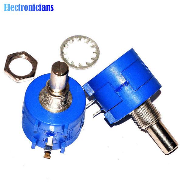 Potentiomètre rotatif de précision bobiné 3590S-2-102L 10 tours 1K ohm