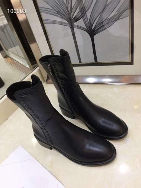 Botas de Martin das Mulheres de Moda de nova Real sapatos de Couro Da Marca botas de combate mulher MELHOR QUALIDADE