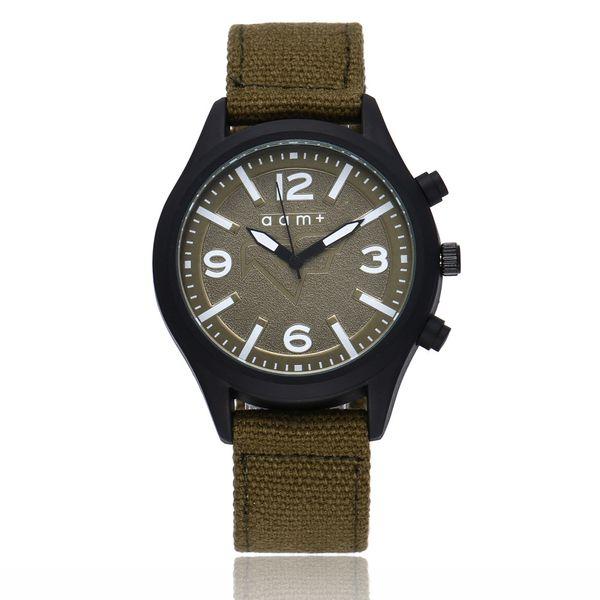 Men Watch Simple Scale Canvas Strap Wristwatch Sports  Quartz Watches Outdoor Casual Male Clock Erkek Kol Saati Relogio