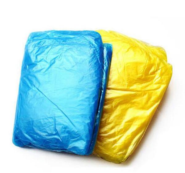 2019 Hot Sale Top Fashion Plastic Wholesale Disposable Raincoat Adult Emergency Waterproof Hood Poncho Travel Camping Must Rain Coat Unisex