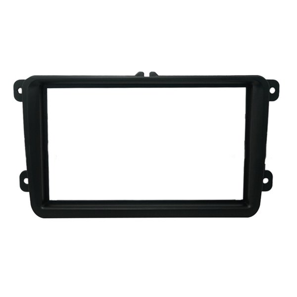 Double Din Car DVD Player Plastic Frame for Volskwagen VW Touran Jetta Golf MK5 Passat Radio Frame Auto Stereo Fascias 2003~2012