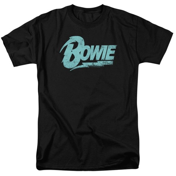 Create Your Own T Shirt Design Crew Neck Short-Sleeve Zomer Fashion David Bowie Logo T-Shirts T Shirts For Men