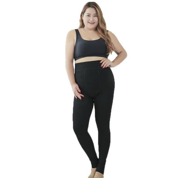 women's leggings women plus velvet autumn and winter wear one pants warm pants thick ladies fashion leggings XXXL